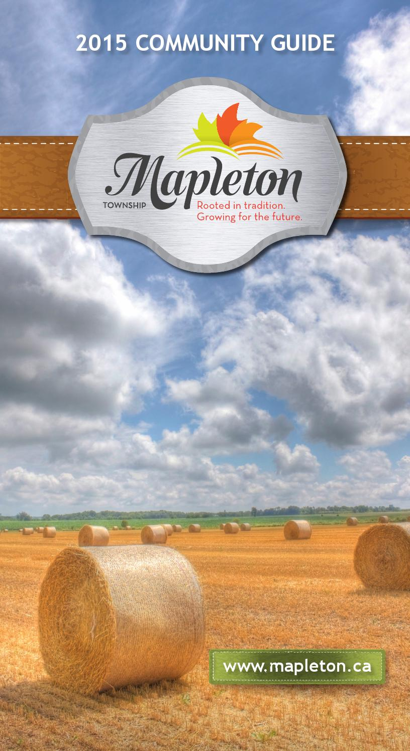 Mapleton 2015 Community Guide by WHA Publications Ltd. - issuu