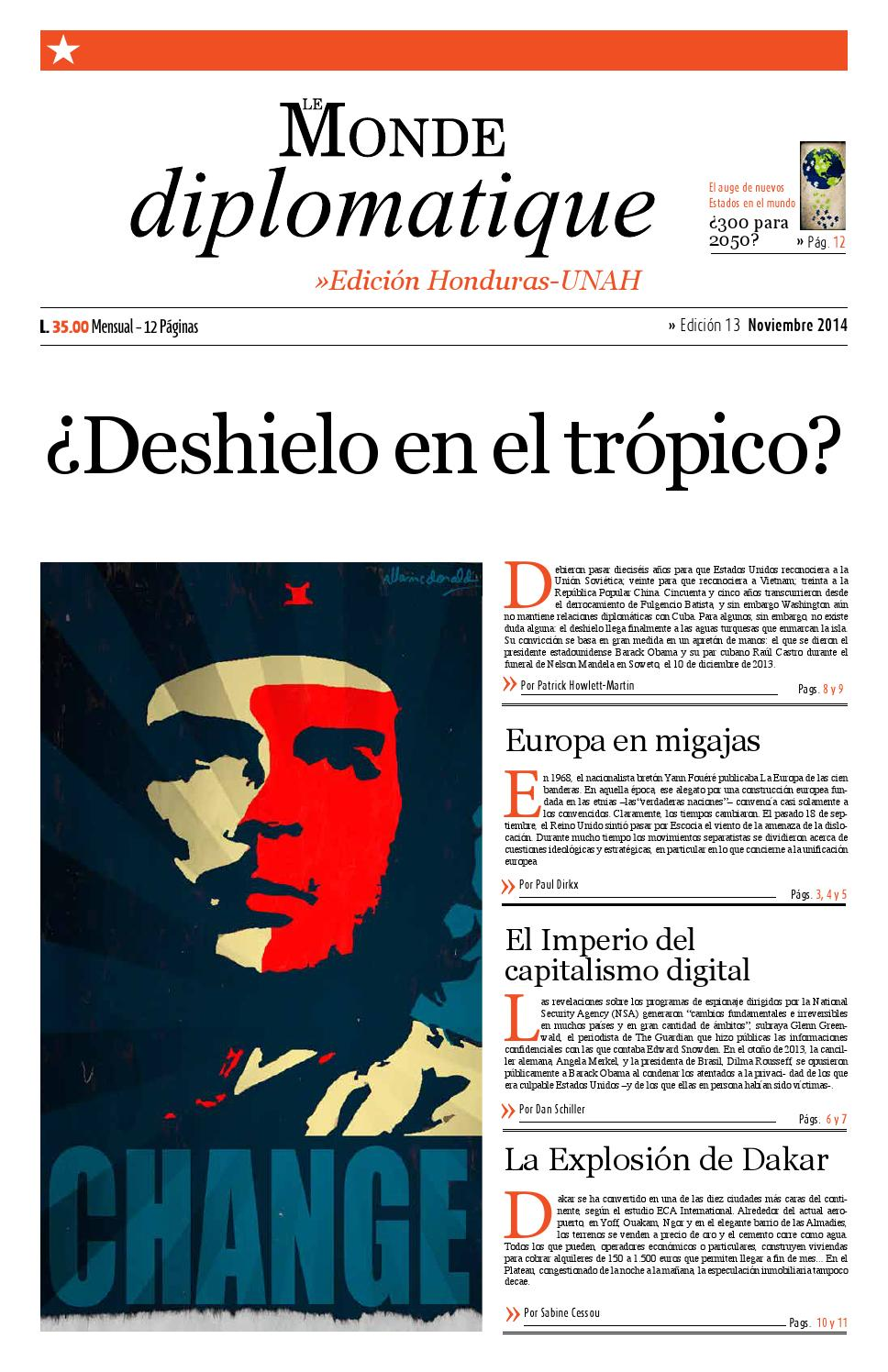 Le Monde Diplomatique Honduras by Lisa Marie Sheran - issuu