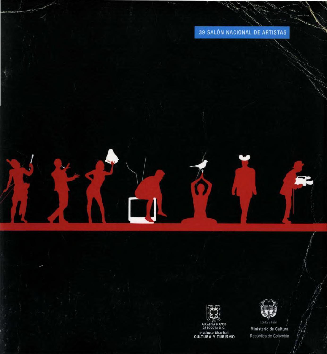 Catálogo del 39 Salón Nacional de Artistas by Artes Visuales ...