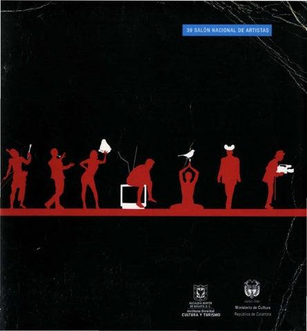 Catálogo del 39 Salón Nacional de Artistas by Artes Visuales ... 8f69ef49627
