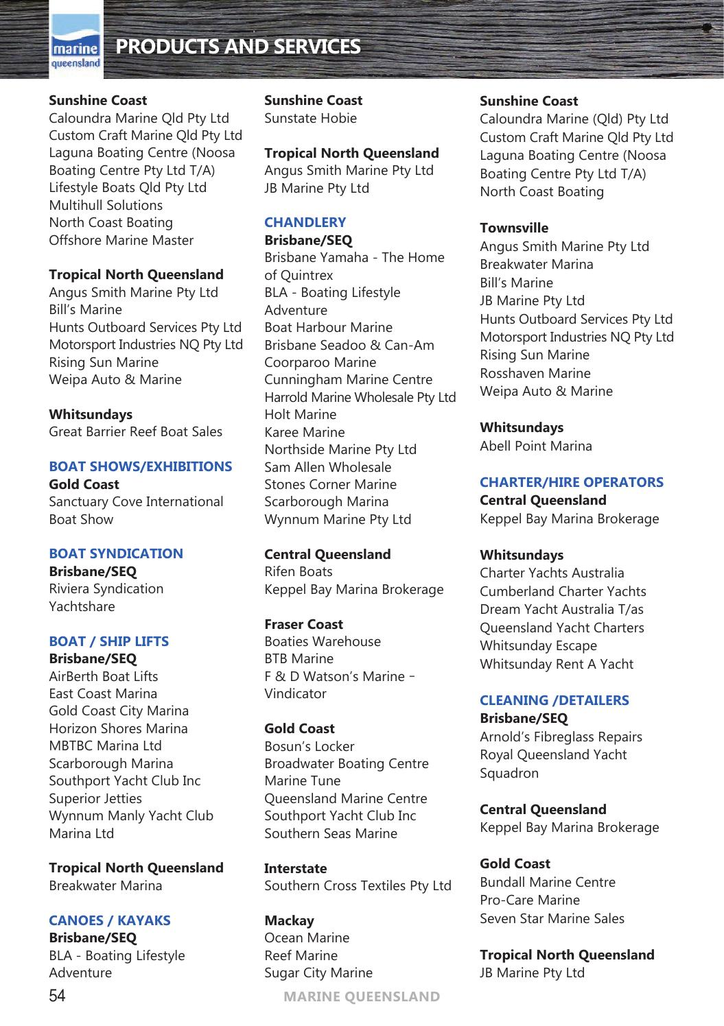 Marine Queensland Marine Directory 2015/16 by
