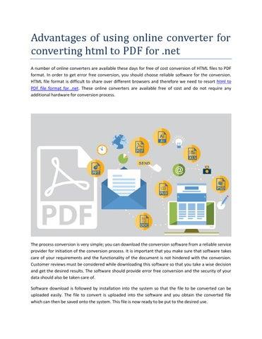 Convert Html To Pdf Format