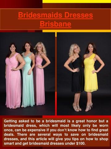 Cheap Bridesmaid Dresses Brisbane by Brisbane Bridesmaid - issuu