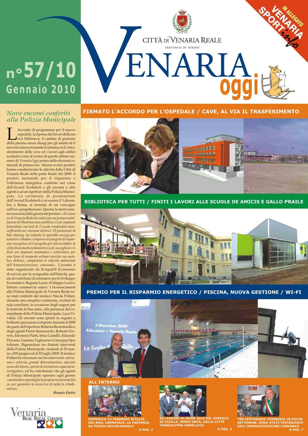 Venaria oggi 57 by comune venaria issuu - Piscina di venaria ...
