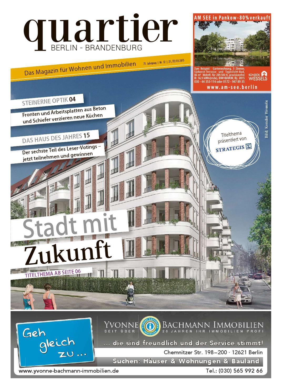 quartier - Stadt mit Zukunft by Berlin Medien GmbH - issuu