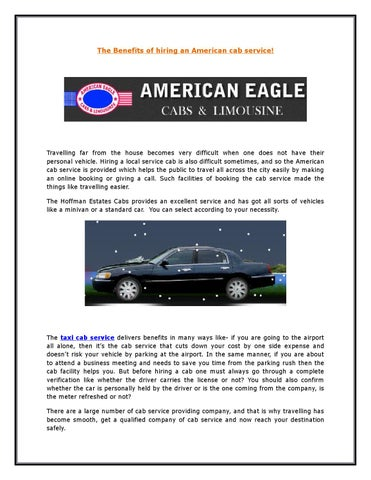 Taxi cab service by aecabsnlimos - issuu