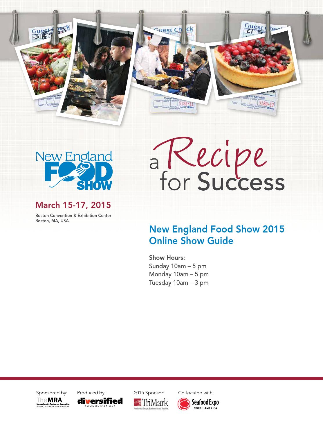 New England Food Show 2015 by Diversified Communications - issuu