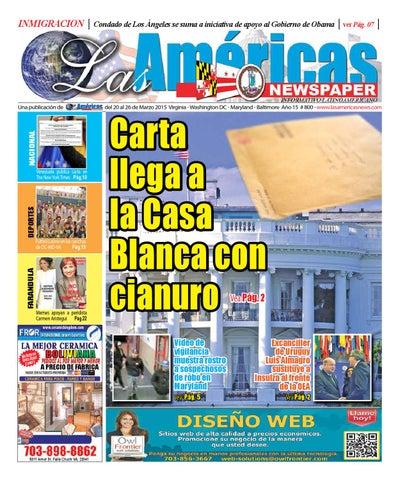 6efc2614cc Carta llega a la Casa Blanca con cianuto servicio secreto investiga ...