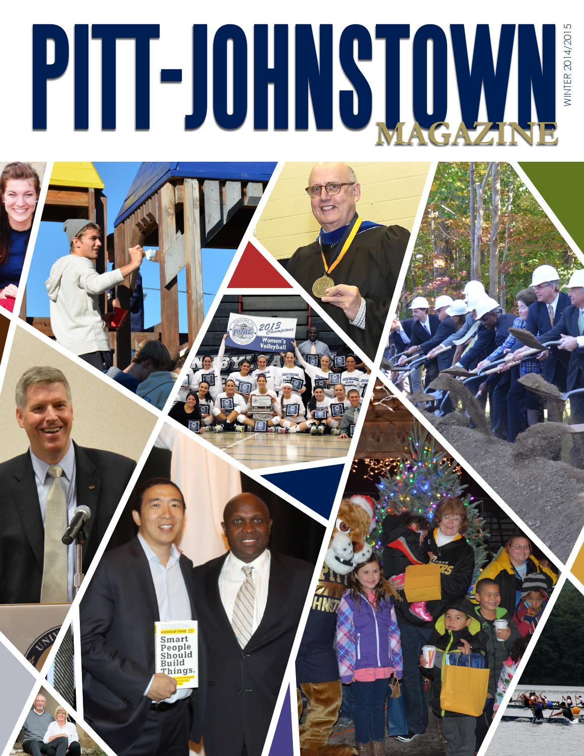 pittjohnstown magazine winter 20142015 by pitt