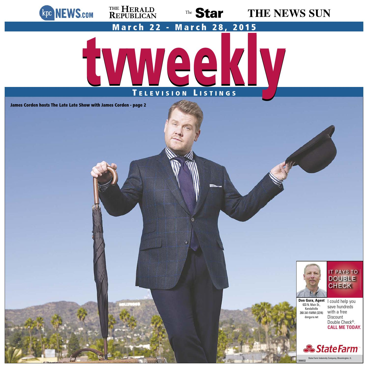 TV Weekly - March 22, ...