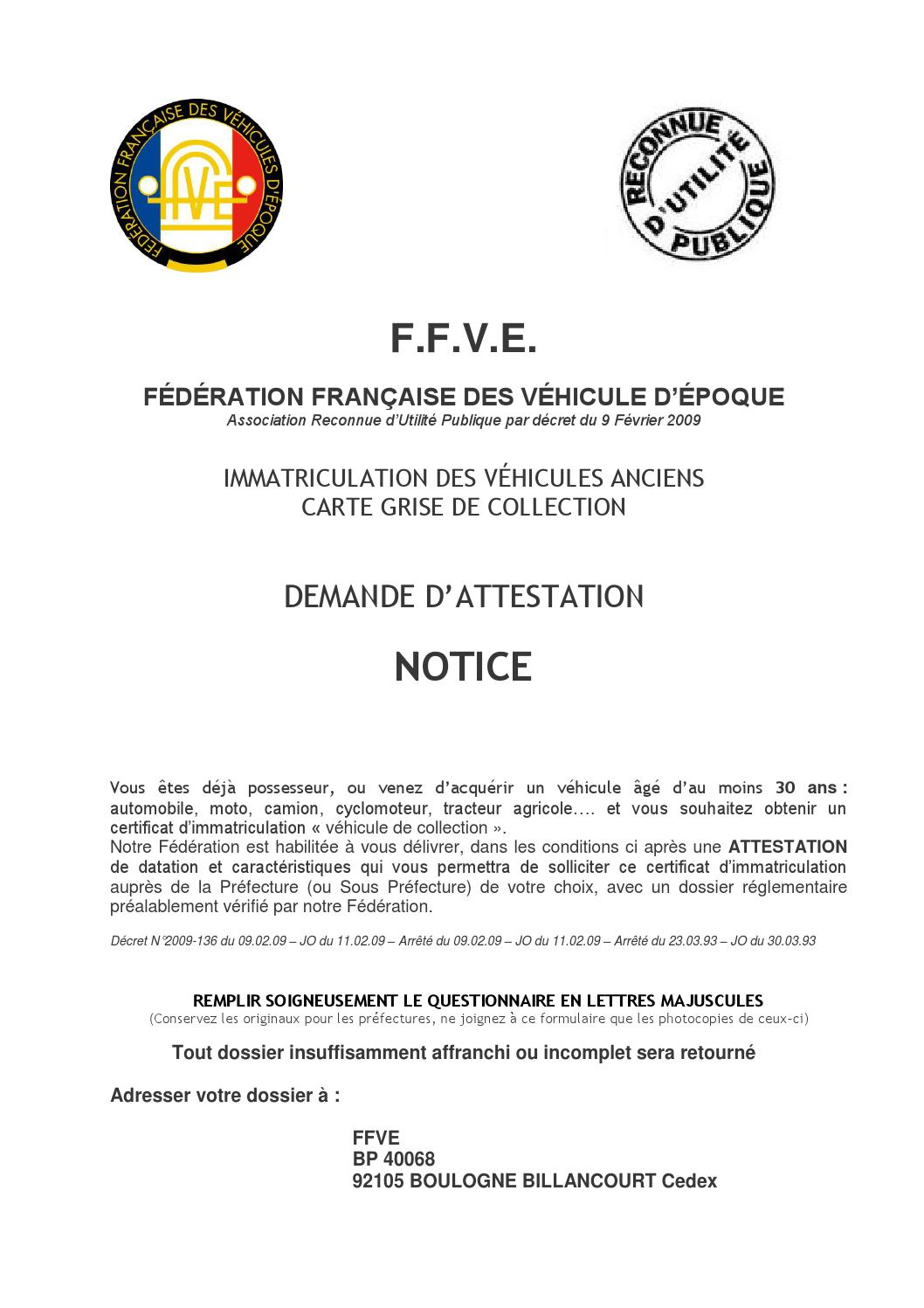 notice pour remplir la demande d attestation ffve by le rocher issuu. Black Bedroom Furniture Sets. Home Design Ideas