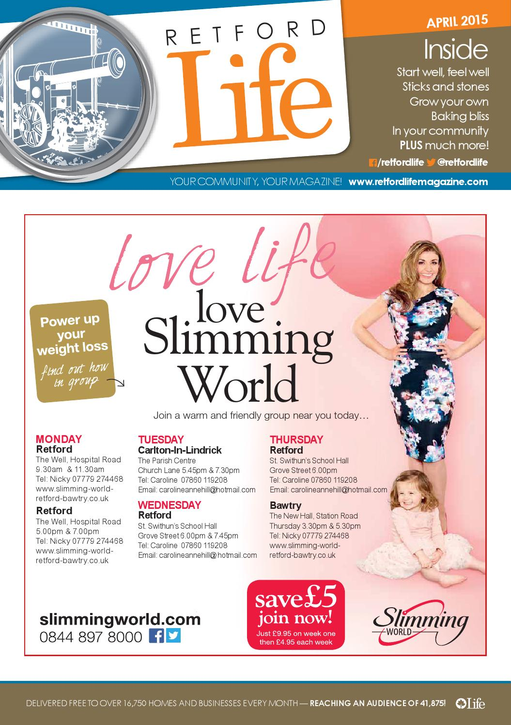 Retford Life Magazine April 2015 By Life Publications Issuu