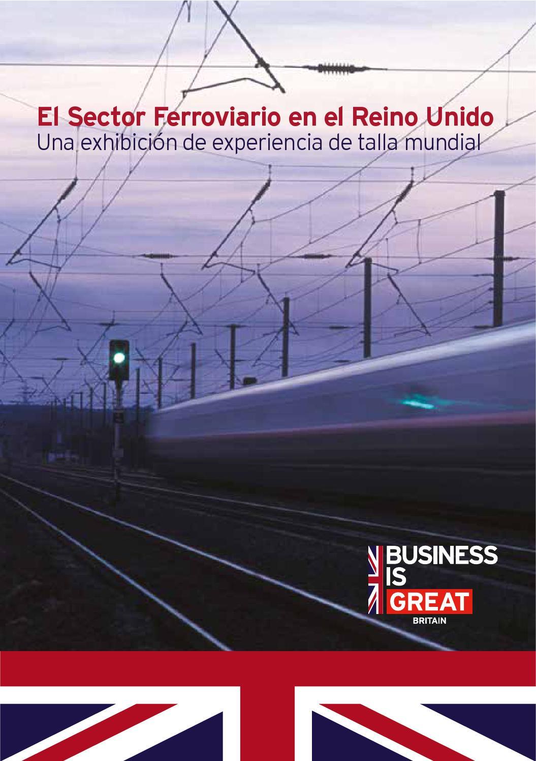 El sector ferroviario en el Reino Unido by BPCC - Cámara de Comercio ...