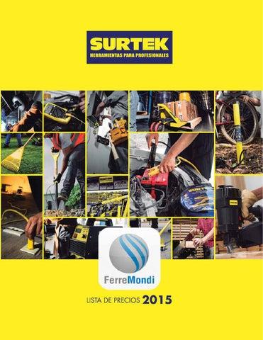 SURTEK - FERREMONDI - CATALOGO by Ferreteria Ferremondi - issuu e05a6c4715f7