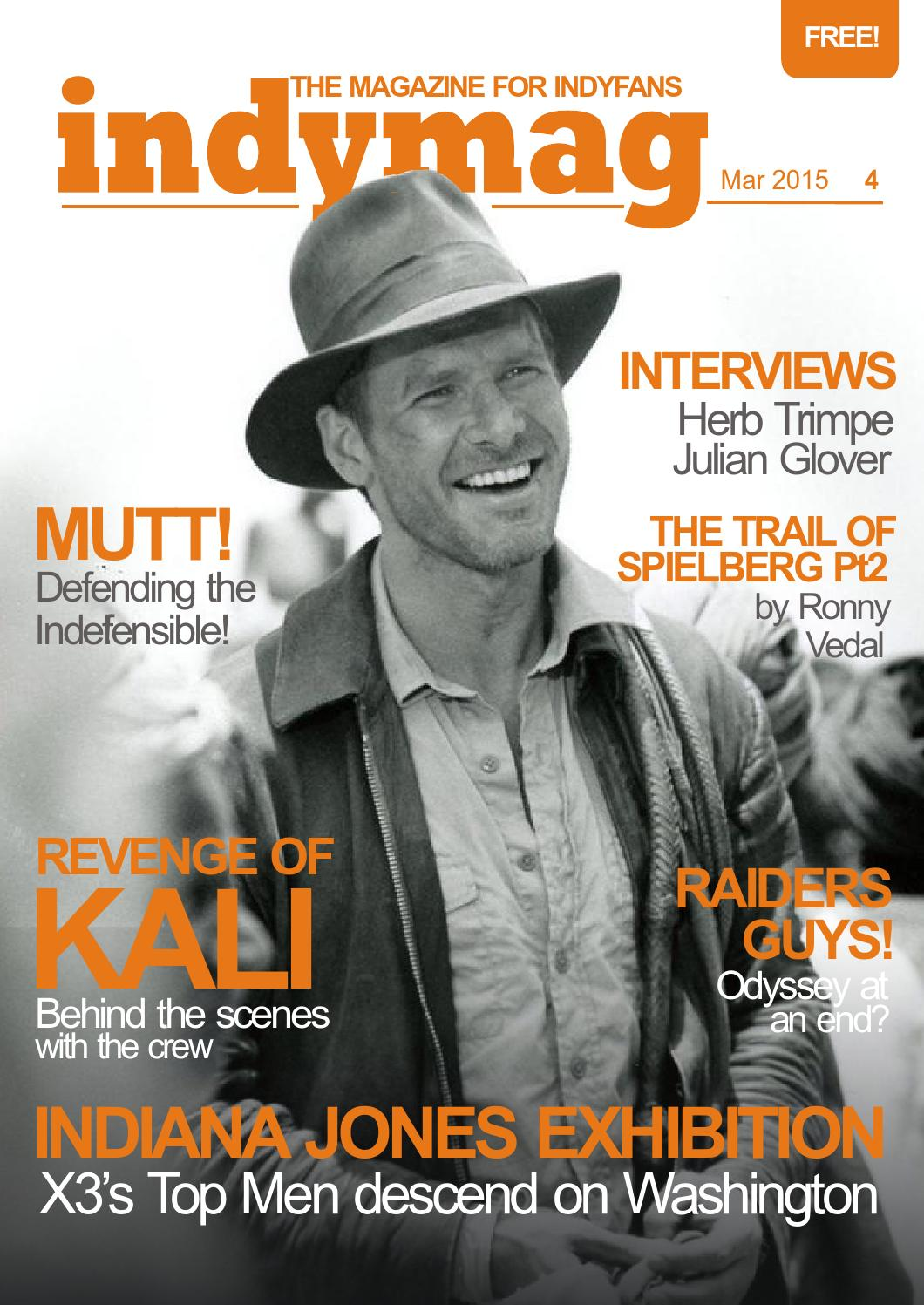 d780dd8e4 Indymag issue 4 - The magazine for Indiana Jones fans by Junior ...