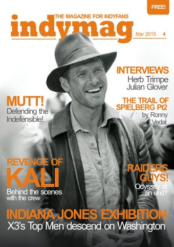 ec872180073da Indymag issue 4 - The magazine for Indiana Jones fans by Junior ...
