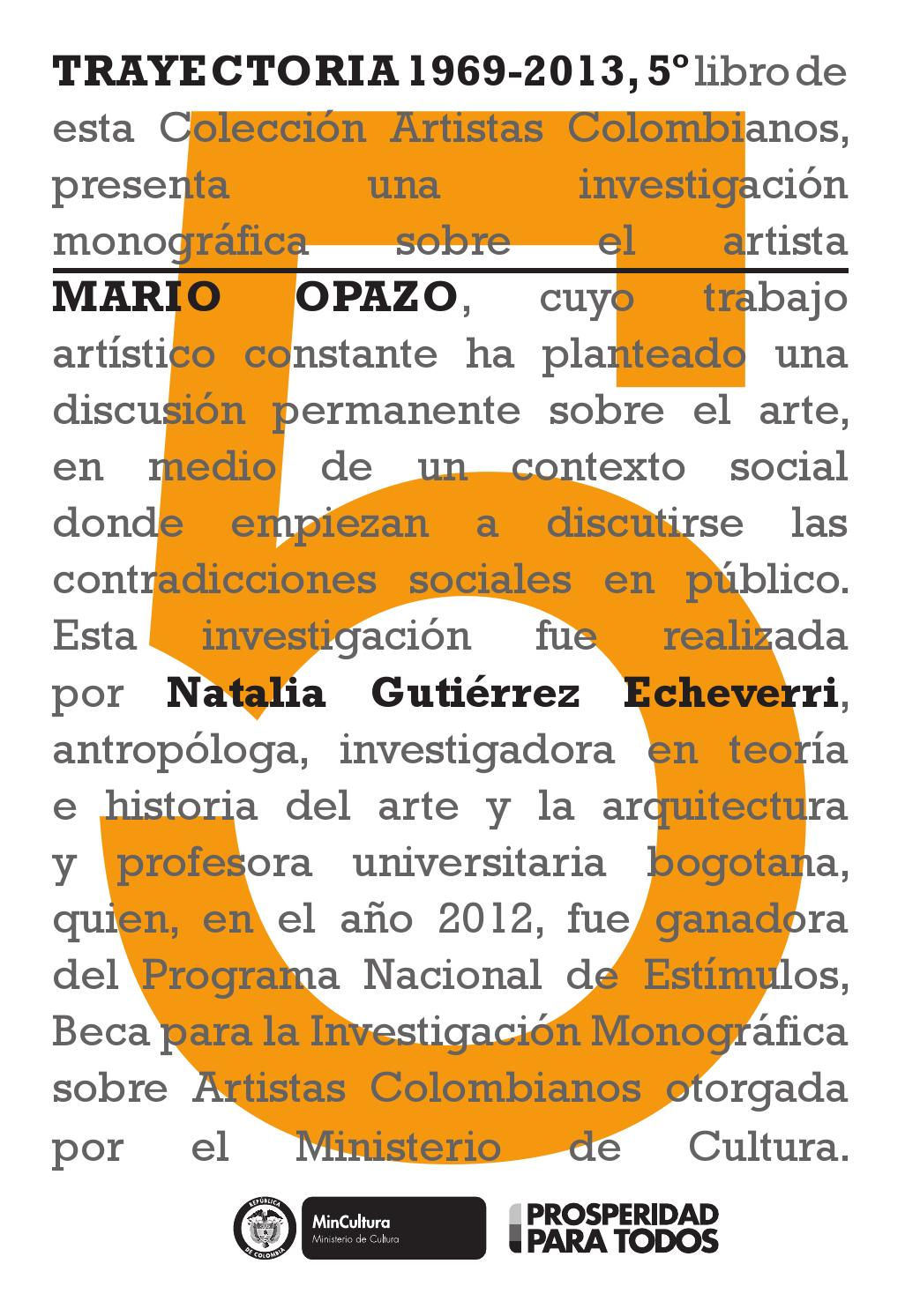 Trayectoria 1969-2013 by Artes Visuales Mincultura - issuu