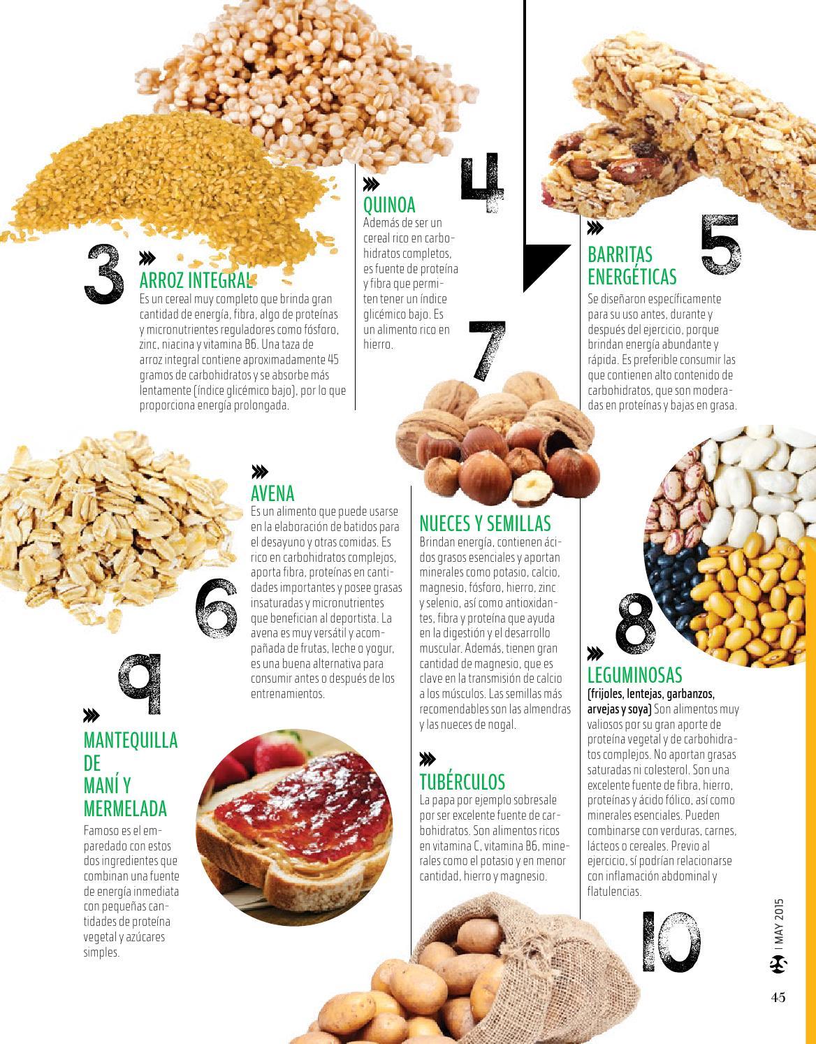 carbohidratos complejos en el desayuno