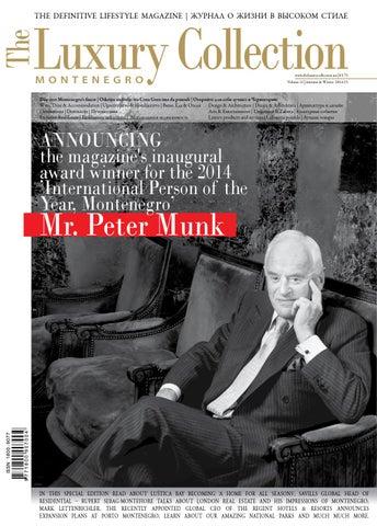 916dbd3ed01 The Luxury Collection Montenegro vol. 11