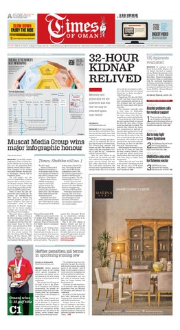 158cc65a3e Times Of Oman - March 22, 2015 by Muscat Media Group - issuu