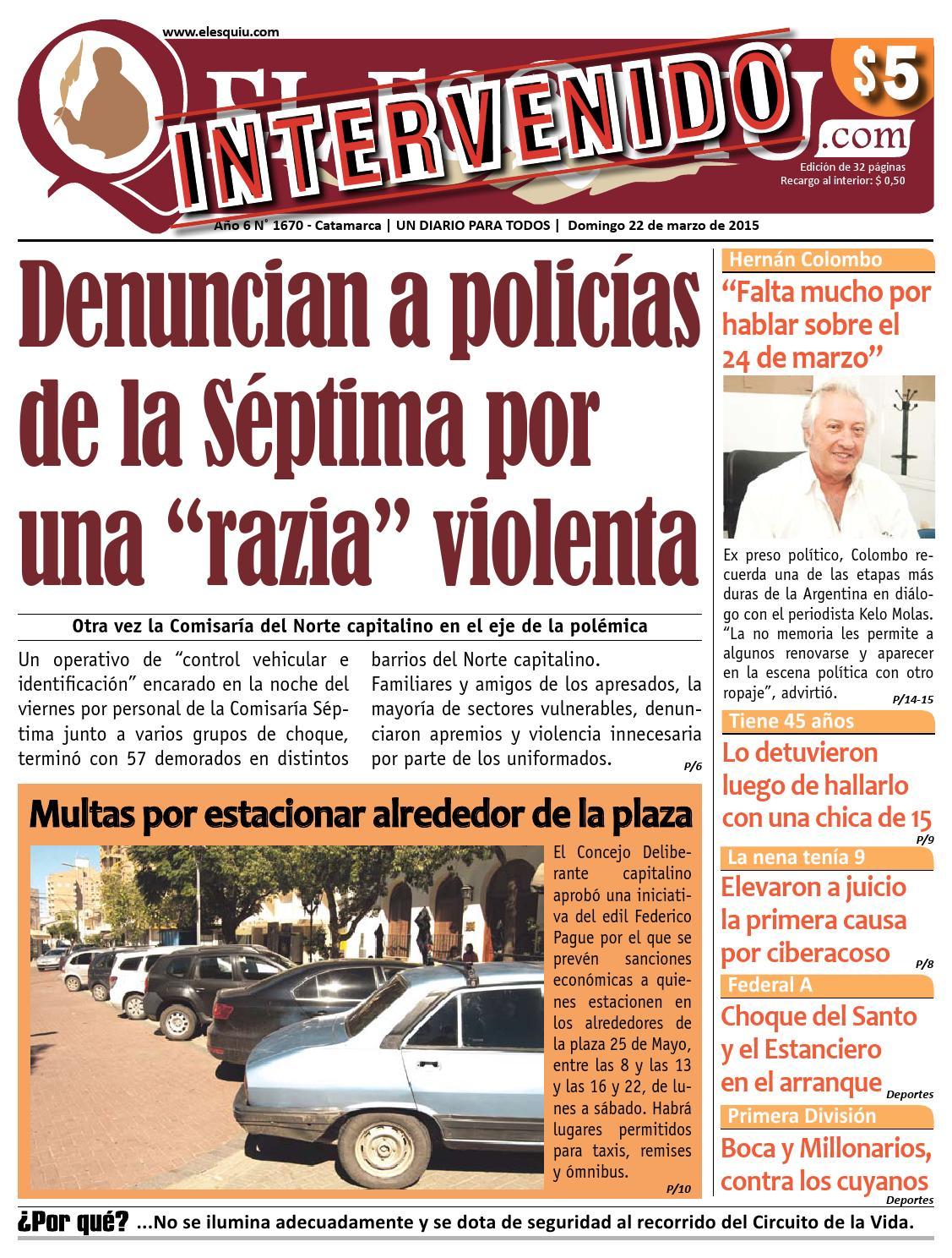 El Esquiu Com Domingo 22 De Marzo De 2015 By Editorial El Esqui  # Muebles Cuyanos