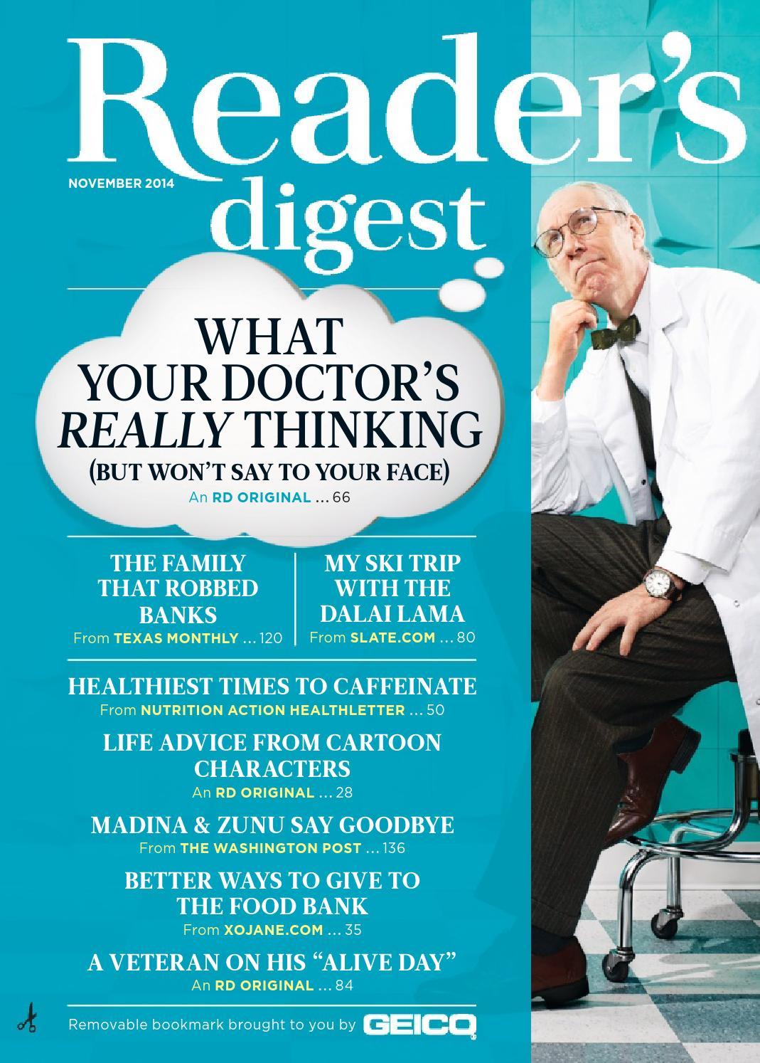 Readers Digest November 2014 By Nova May Solite Issuu Line Circuit Blog