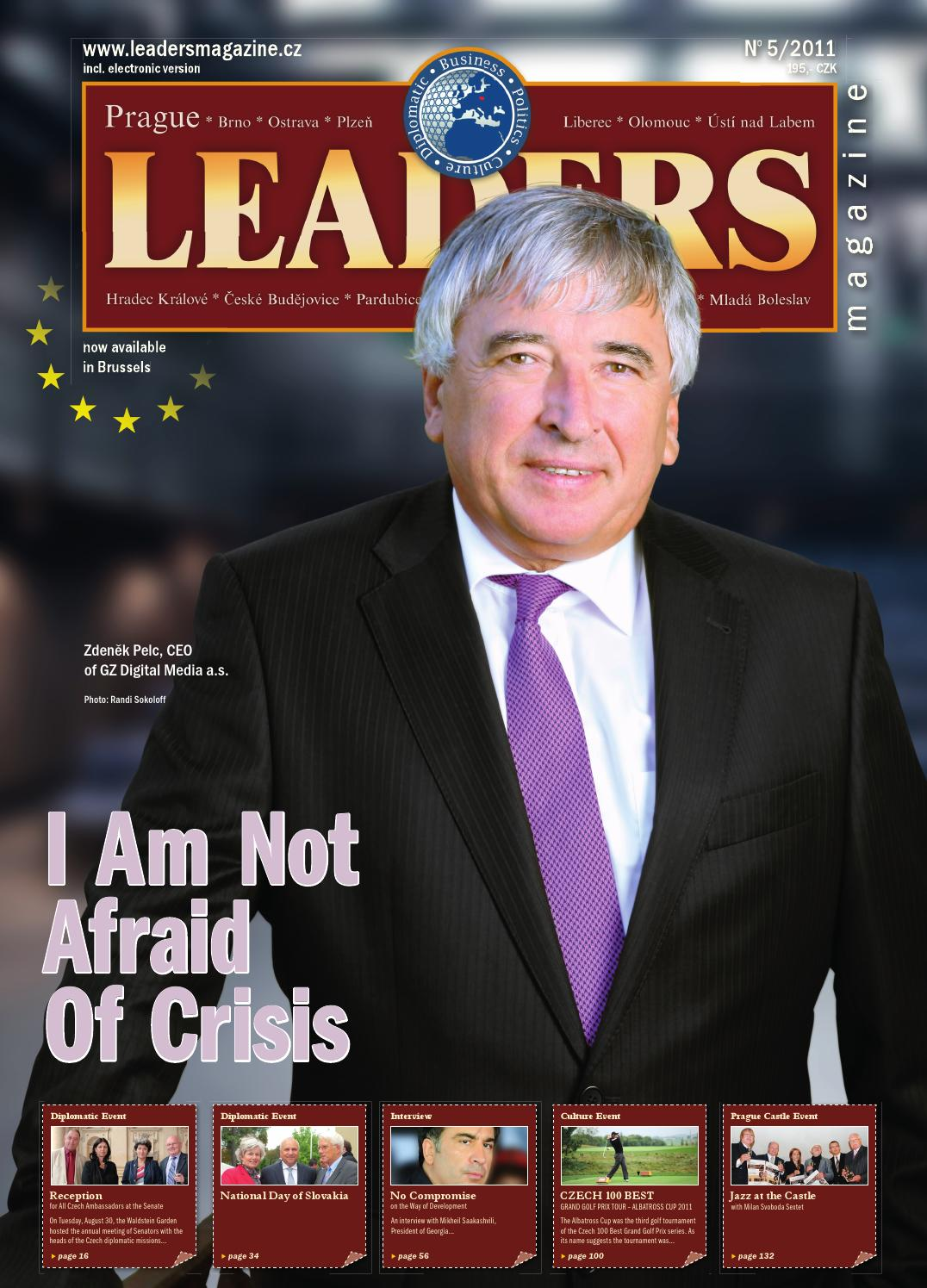 Prague Leaders Magazine Issue 05 2011 By Czech Slovak Leaders Images, Photos, Reviews
