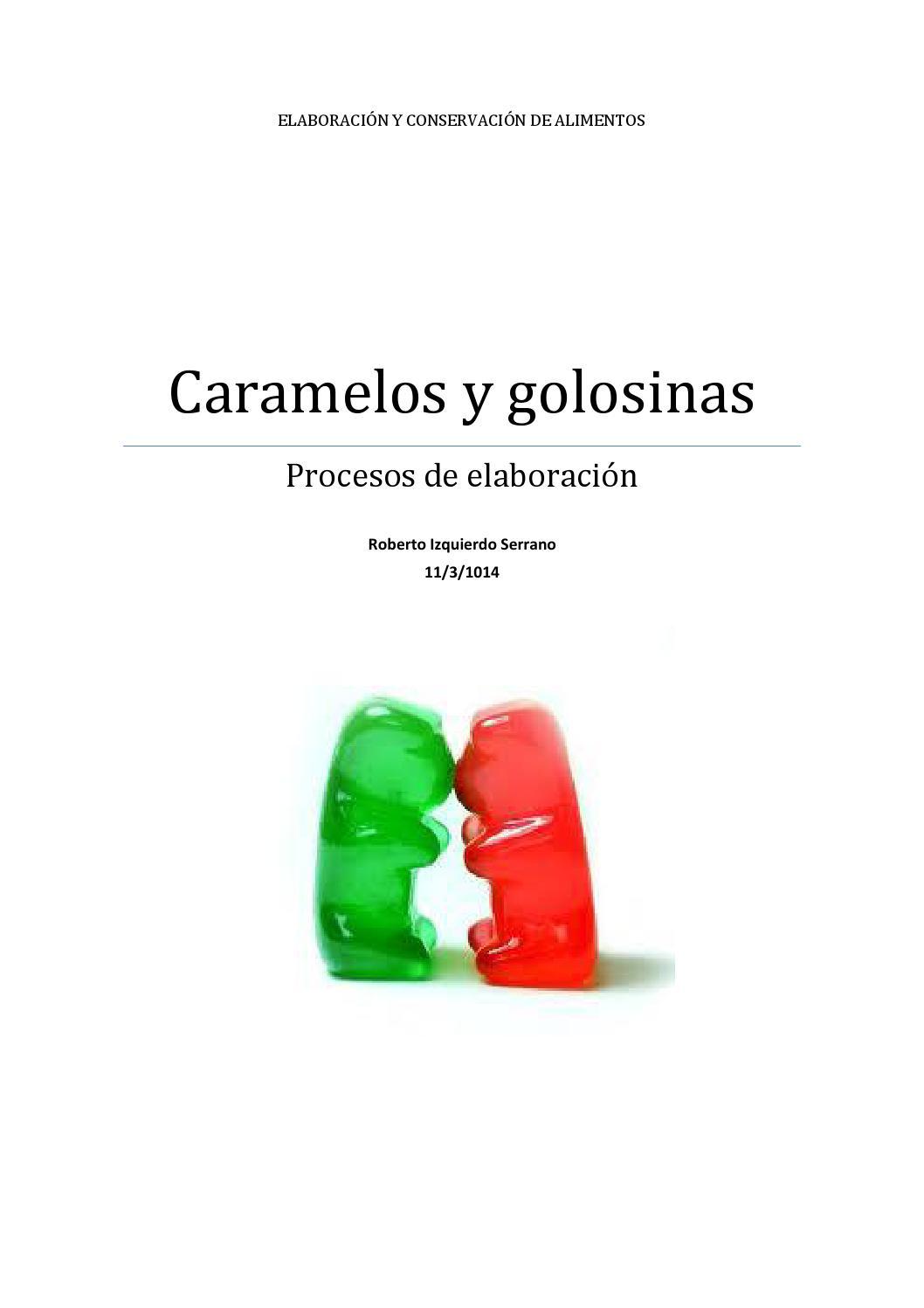 0elaboracion de caramelos y golosinas by marina gutiérrez garcía