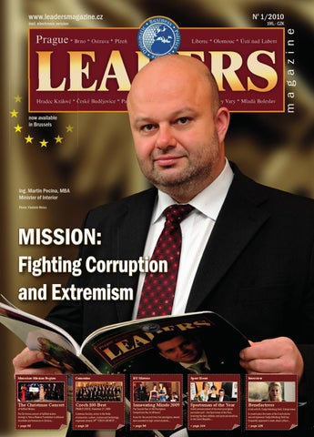 eb4d46f5efe Prague Leaders Magazine 01 2010 by Czech   Slovak Leaders - issuu