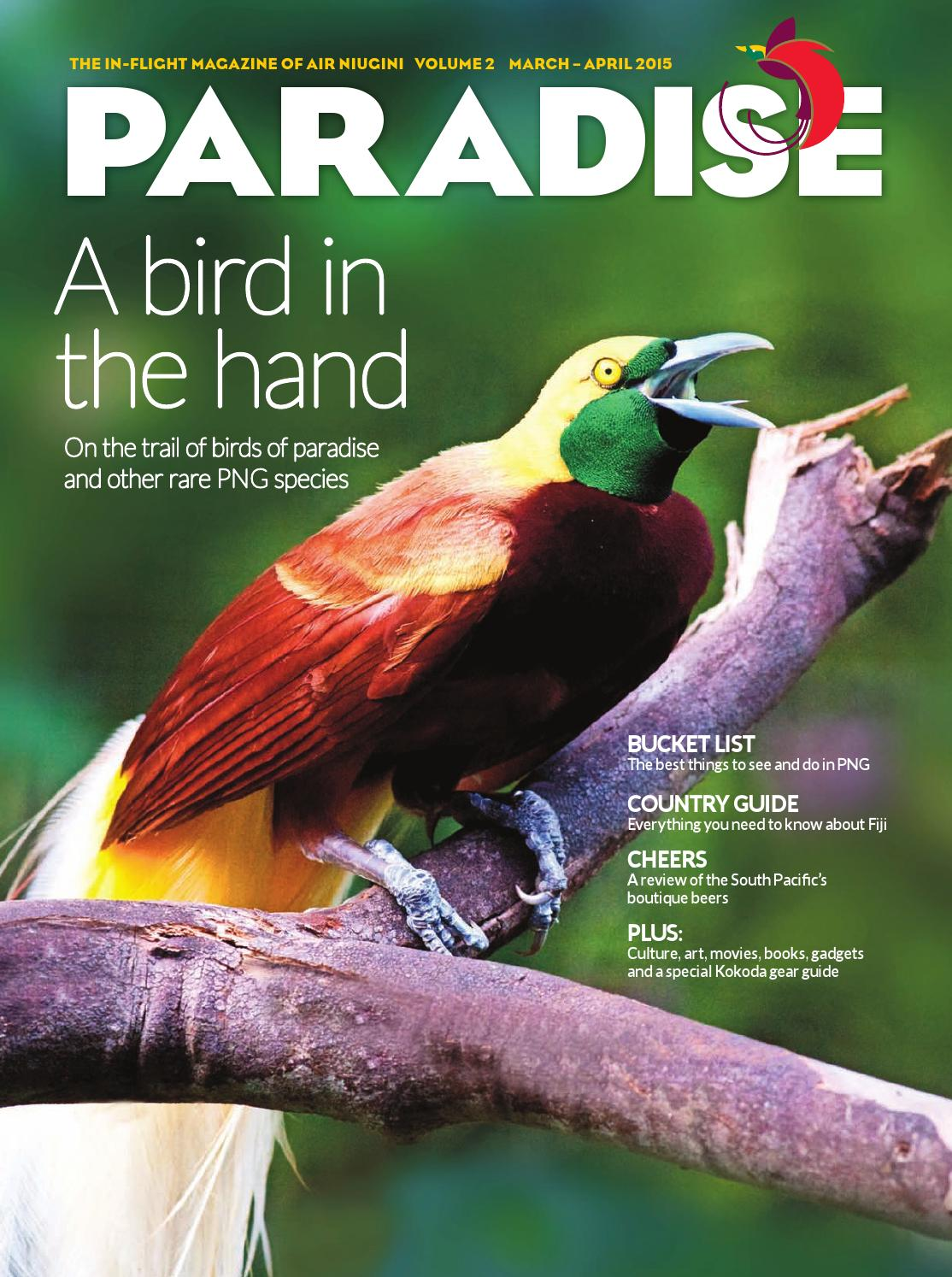 Paradise The In Flight Magazine Of Air Niugini Vol 2