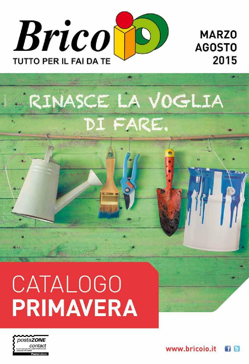 Bricoio 31ago by volavolantino issuu for Staccionata in legno brico