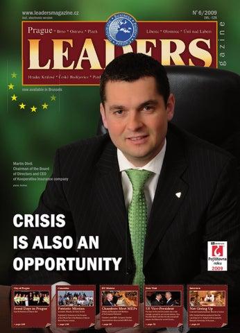 Prague Leaders Magazine Issue 06 2009 by Czech   Slovak Leaders - issuu c37d3da389