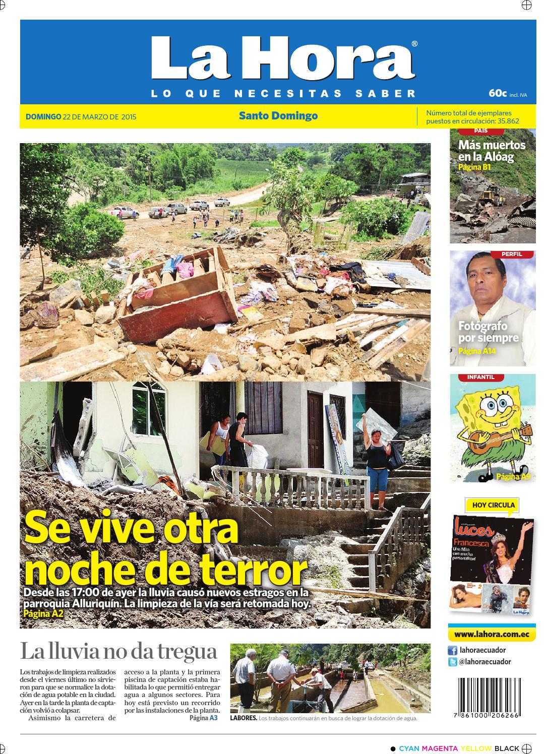 Santo Domingo 22 de marzo 2015 by Diario La Hora Ecuador - issuu 44d412ab2e91