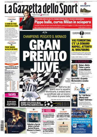 La Gazzetta dello Sport (03-22-2015) by Nguyen Duc Thinh - issuu c3e71a5d391b