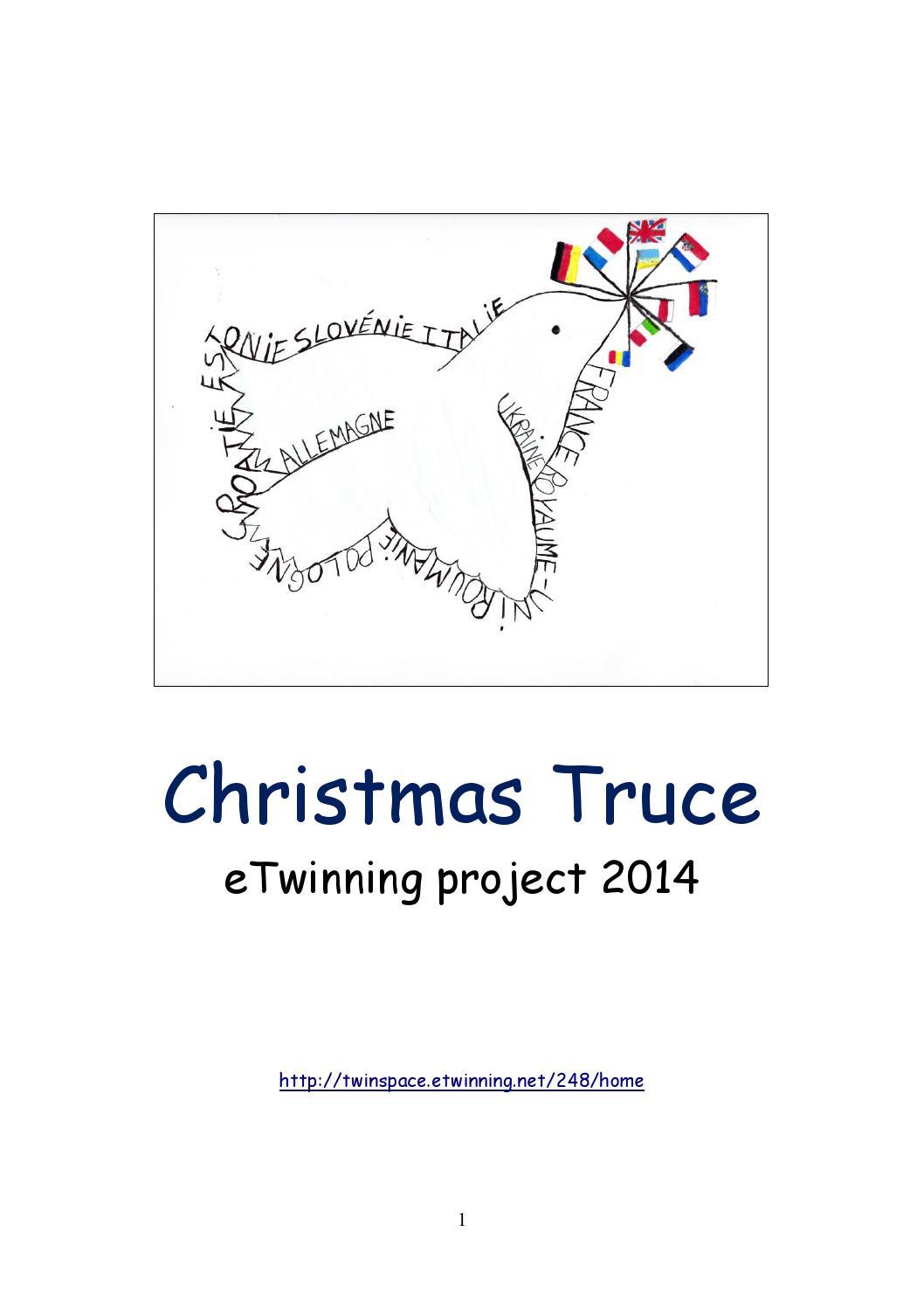 Ebook Christmas Truce eTwinning Project by DJLinford - issuu