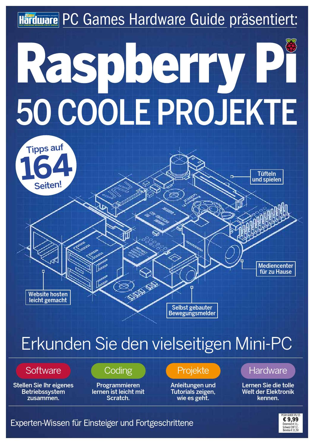 Raspberry Pi 50 Coole Projekte by Zockerstübchen - issuu