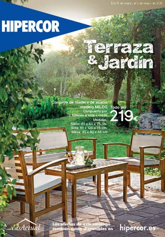 Hipercor terraza jard n 2015 by andr gon alves issuu for Hipercor sombrillas jardin