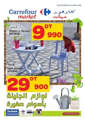 Catalogue carrefour market tous au jardin by carrefour - Catalogue carrefour salon de jardin ...