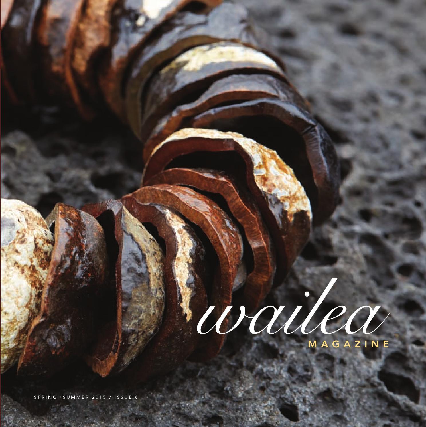 Wailea Magazine Spring Summer 2015 by Morris Media Network issuu