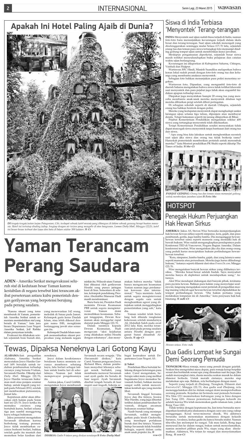 Wawasan 23 Maret 2015 By Koran Pagi Wawasan Issuu