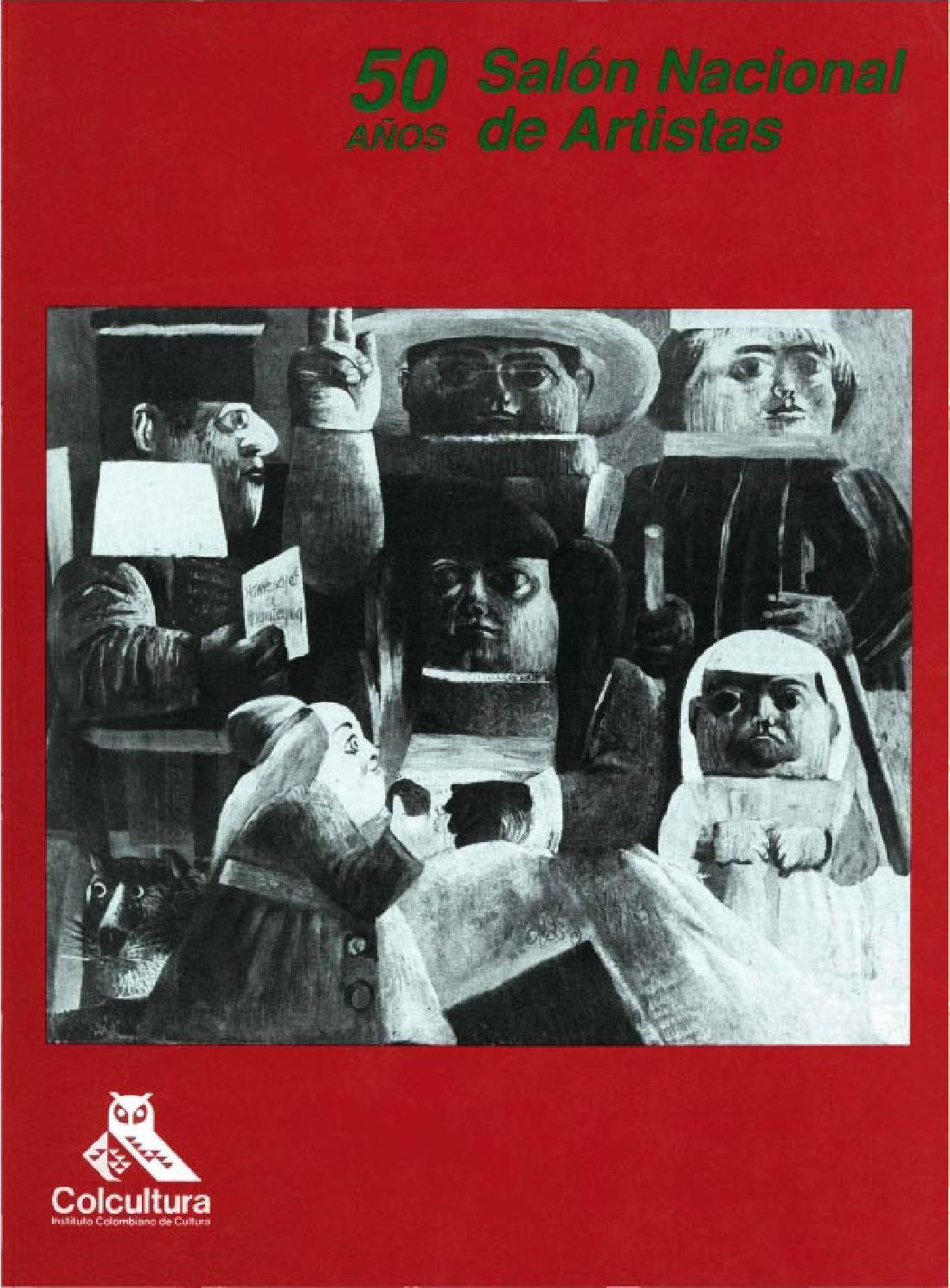 50 años del Salón Nacional de Artistas by Artes Visuales Mincultura ...