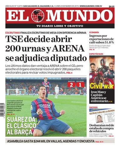 566377fd9e52e Mundo230315 by Diario El Mundo - issuu