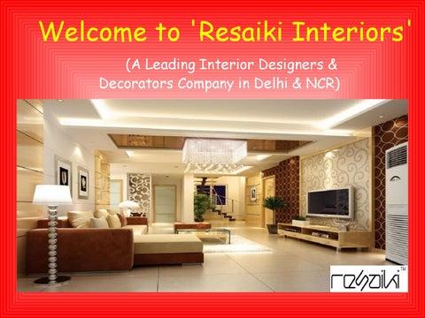top interior designers in delhi ncr by resaiki interiors issuu