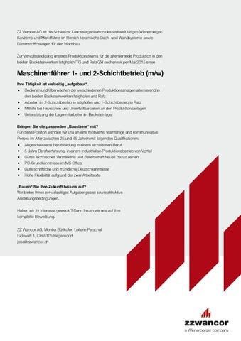 page 1 - Bewerbung Als Maschinenfuhrer