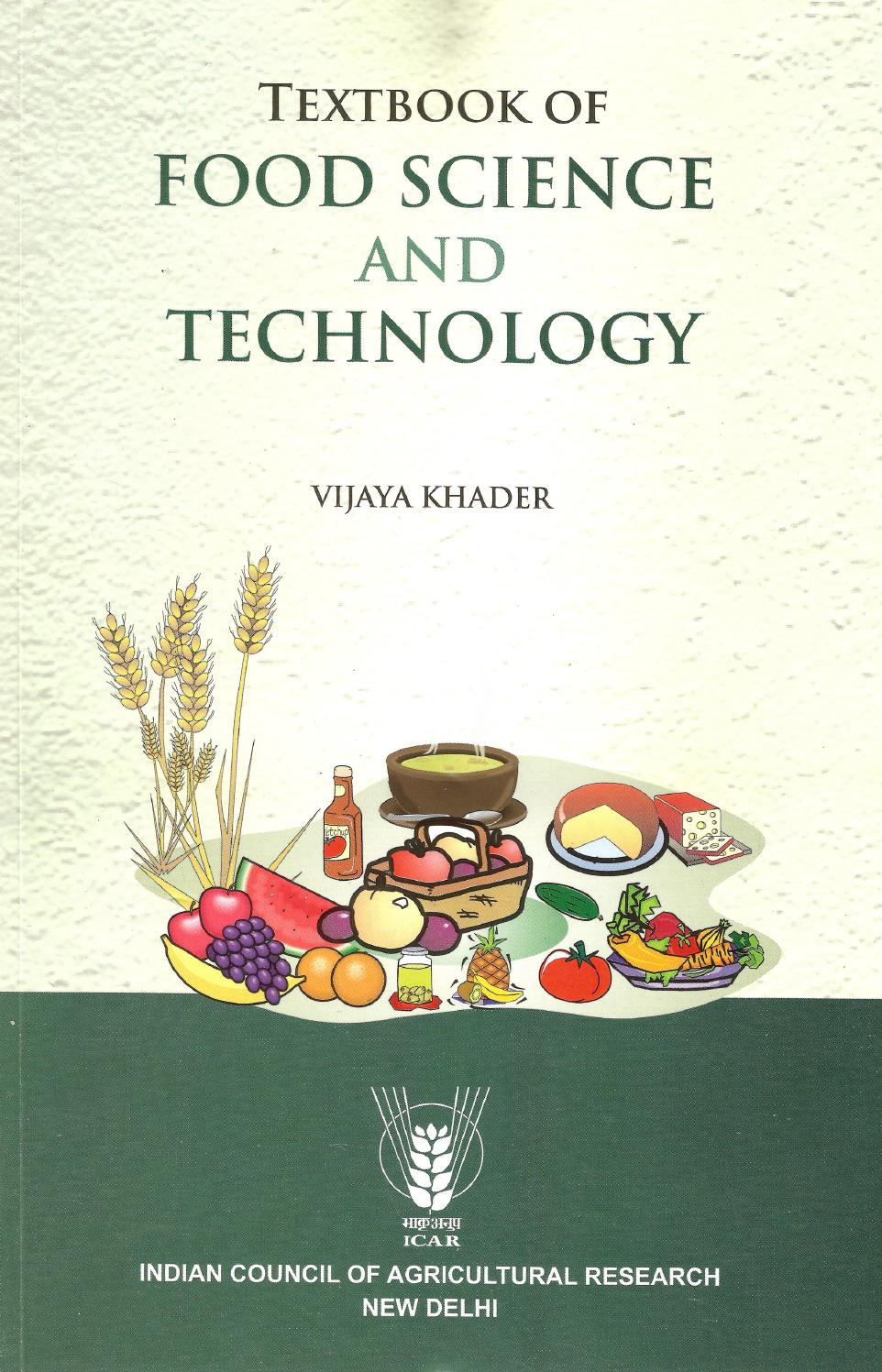 Text book of food science and technology by Kisan Forum Pvt  Ltd
