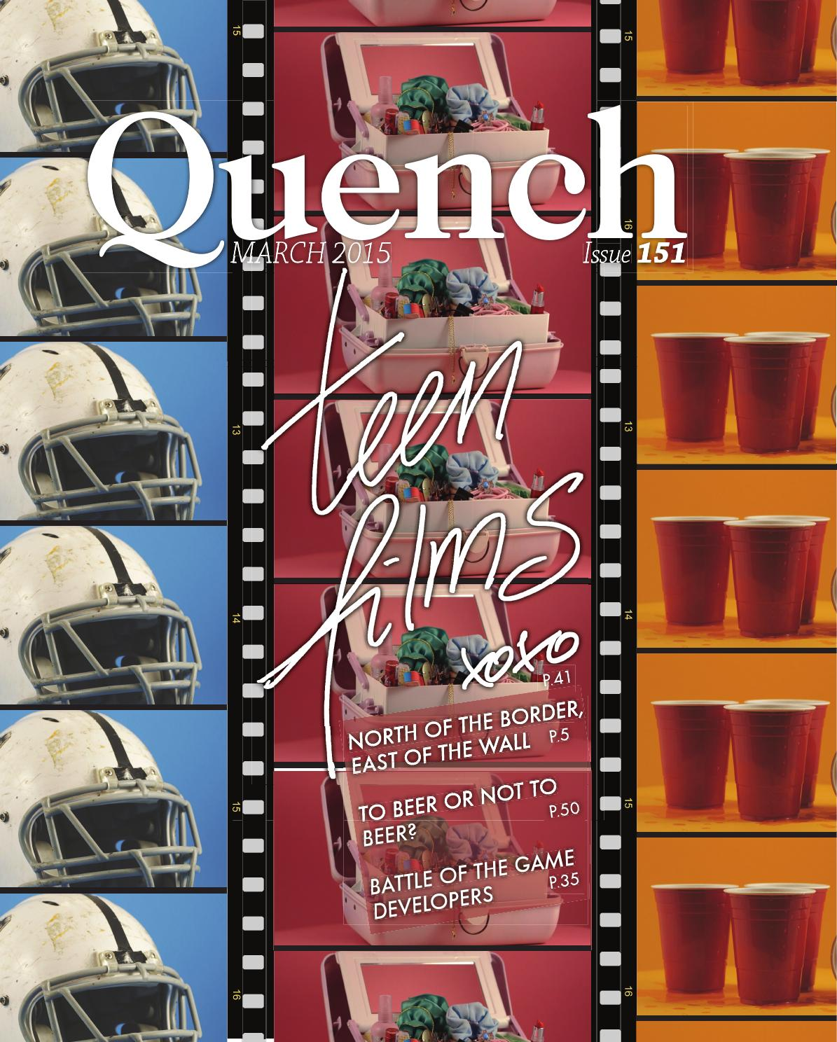 Quench 151 By Cardiff Student Media Issuu Trillogy Latching Push Button Switches Demon Tweeks