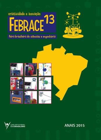 Anais FEBRACE 2015 by FEBRACE - Feira Brasileira de Ciências e ... b323914e105