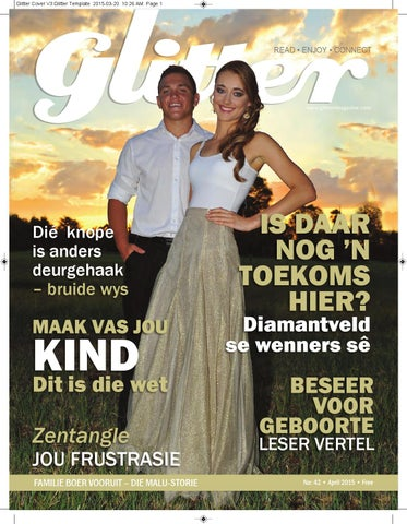 "Cover of ""Glitter April 2015"""