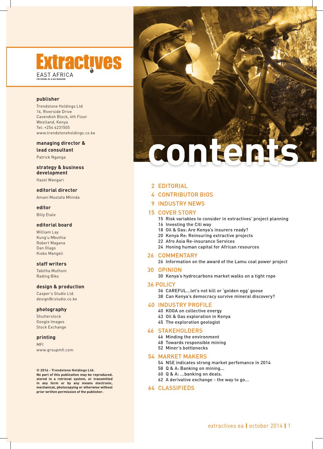 Extractives mag final to press correct 2 by Extractives East