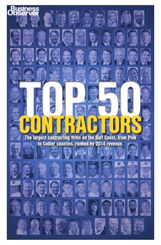 Top 50 Contractors By Kat Hughes Issuu